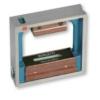 Kép 1/2 - Négyzetes keretű precíziós vízmérték, 250x250 mm, 0,5 mm