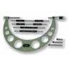 Kép 1/3 - Század pontosságú, külső mikrométer, összetett rúddal, méréstartomány:  100-200mm