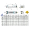 Kép 2/2 - Moduláris gépsatu 150X400, HRC 60÷62 keménység, 0,015 tűrés, MS vegyes, a rögzített pofa SP rögzített pofabetéttel és a mozgópofa ferdesíkú MP pofabetéttel