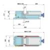 Kép 2/2 - Pneumatikus gépsatu 120x120 mm