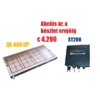 Kép 1/2 - Akció - Elektro-permanens mágnesasztal, 400x790 mm, 32 pólus, 20 t rögzítőerő, QX 408 UP,  XT 200 vezérlővel