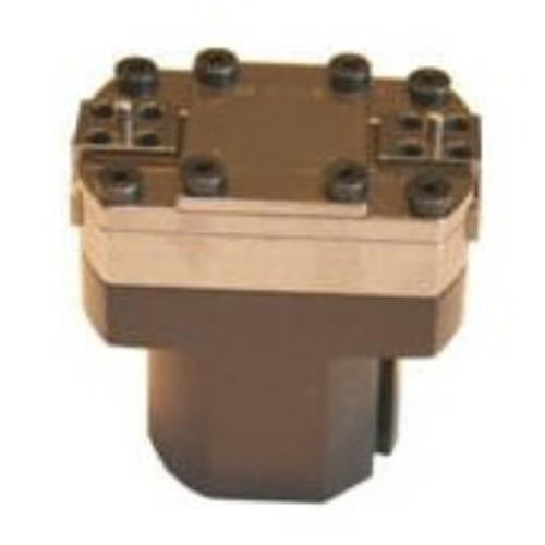 Pneumatikus robotmegfogó 2 pofával, 30 mm löket, 128 mm zárás