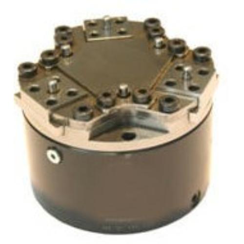 Pneumatikus robotmegfogó 3 pofával, 30 mm löket, 128 mm zárás