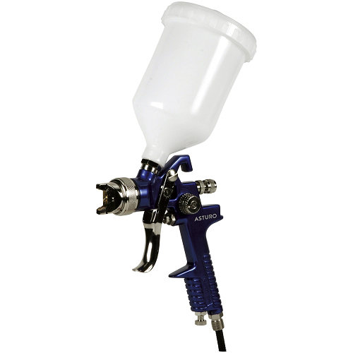 Hagyományos, kézi, festékszóró felső alacsony nyomású  fúvóka Ø 1,7 mm H-827 sorozatú