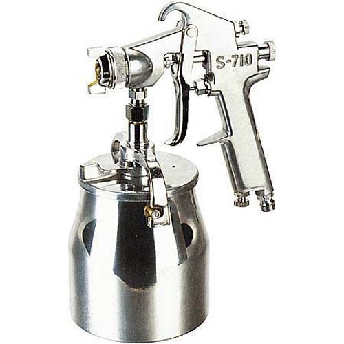 Hagyományos festékszóró,kézi,, alsó alacsony nyomású típus S710,  fúvóka Ø 1,5 mm