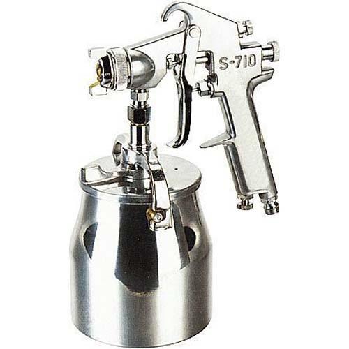 Hagyományos festékszóró,kézi,, alsó alacsony nyomású típus S710,  fúvóka Ø 1,8 mm