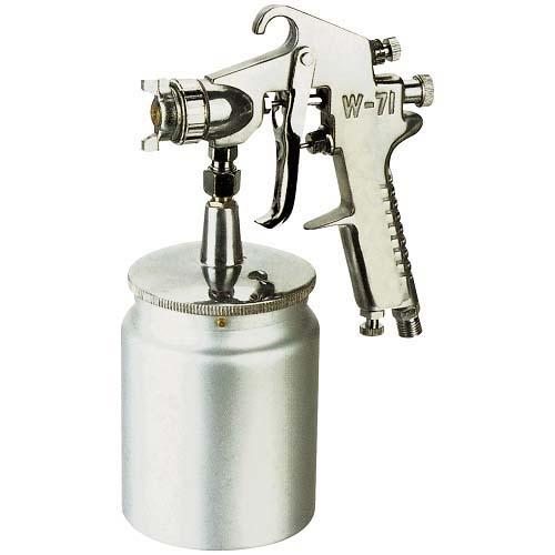 Hagyományos festékszóró,kézi,, alsó alacsony nyomású típus W71S,  fúvóka Ø 1,5 mm