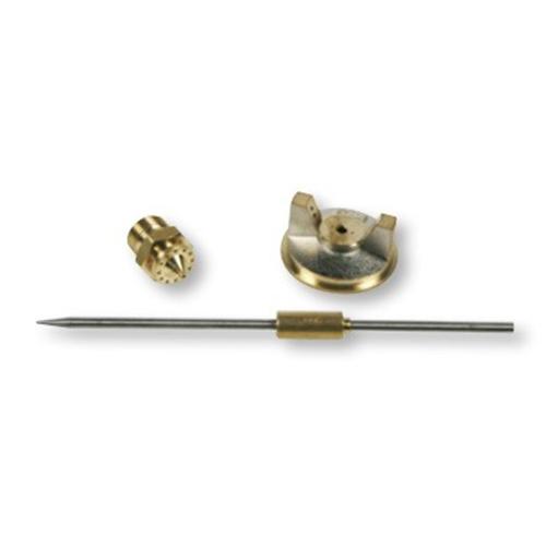 Festékszóró pótalkatrészek G70-E70:   Tű ,  fedél,  fúvóka Ø 1,6 mm
