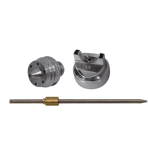Festékszóró pótalkatrészek H827:   Tű ,  fedél,  fúvóka Ø 1,7 mm