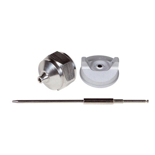 Festékszóró pótalkatrészek BRI-BRP:   Tű ,  fedél,  fúvóka Ø 1,0 mm
