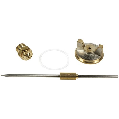 Festékszóró pótalkatrészek G70:   Tű ,  fedél,  fúvóka Ø 1,6 mm