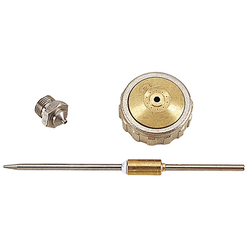 Festékszóró pótalkatrészek PB/NE:   Tű ,  fedél,  fúvóka Ø 2,5 mm