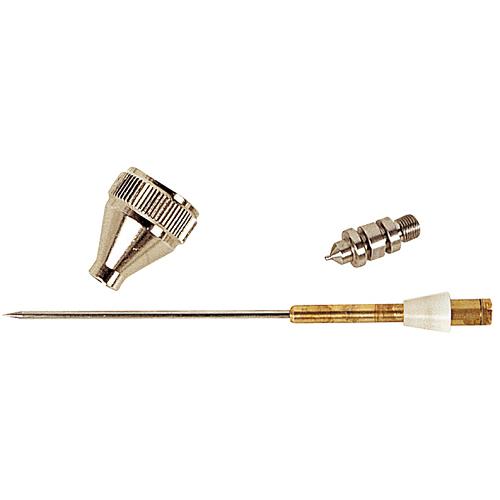 Festékszóró pótalkatrészek K3:   Tű ,  fedél,  fúvóka Ø 0,7 mm