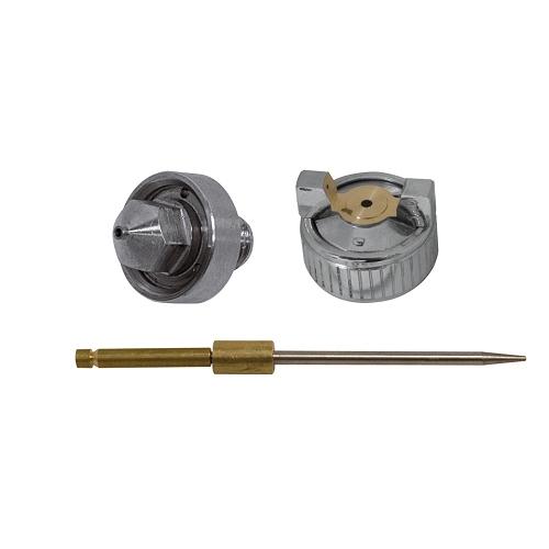 Festékszóró pótalkatrészek H-2000:   Tű ,  fedél,  fúvóka Ø 0,8 mm