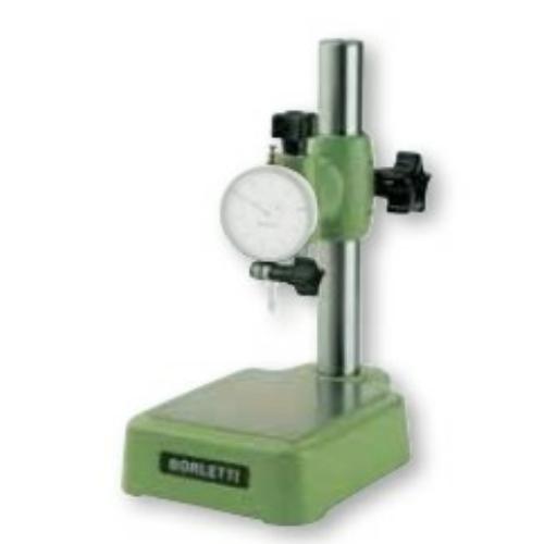 Mérőóra állvány, 130 mm mérőtartománnyal, 105x125 mm lap / asztal, d8 mm mérőóra csatlakozással