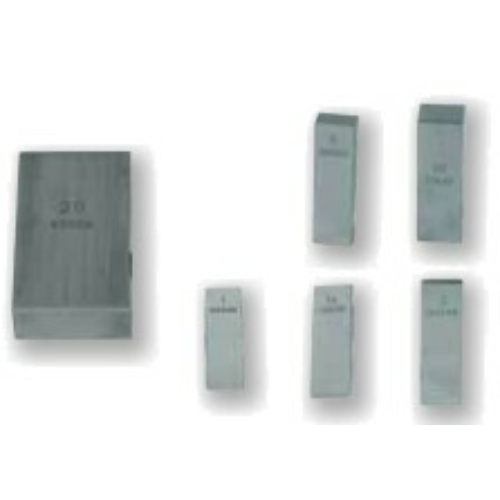 0 pontossági osztályú acél mérőhasáb 1.39mm