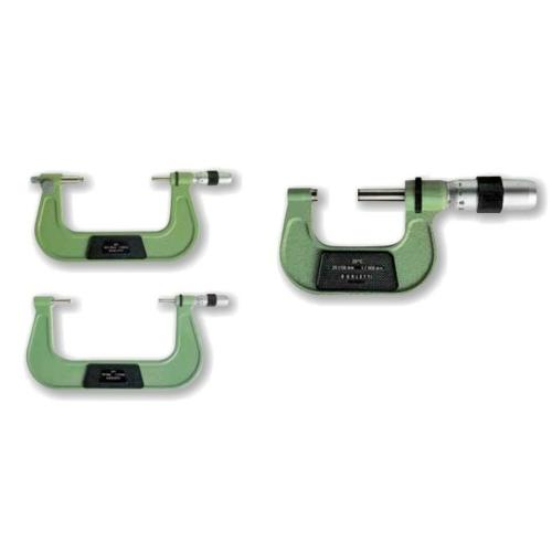 Század pontosságú, külső mikrométer,  méréstartomány:  100-150mm