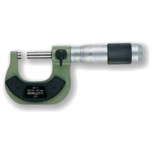 Század pontosságú, külső mikrométer, nullázással, méréstartomány:  készlet  0-200mm - a mikrométerek egyesével vannak csomagolva.