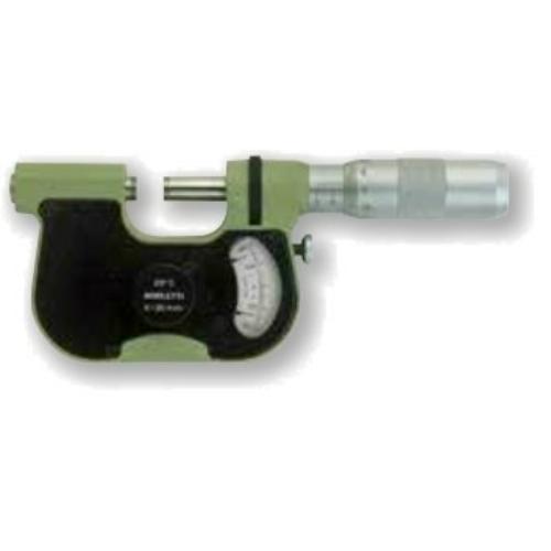 Ezred potosságú mikrométerek, méréstartomány: 0-25mm