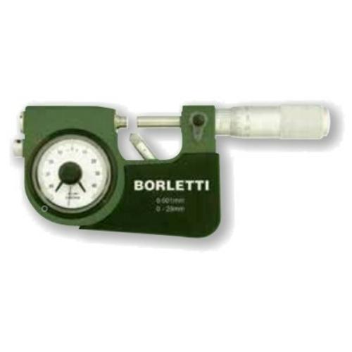 Ezred potosságú külső mikrométerek, méréstartomány: 0-25mm, keményfém érintkezőkkel