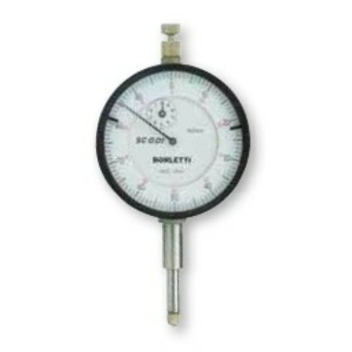 Század pontosságú mérőóra, lökethossz 10 mm
