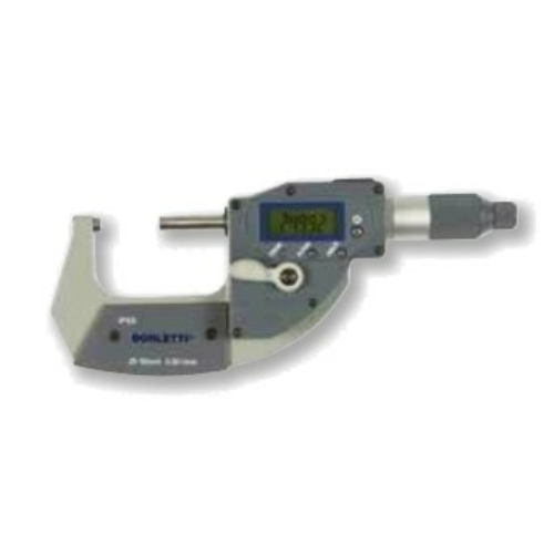 Digitális, ezred potosságú külső mikrométerek 25-50mm, IP65, adatkimenettel