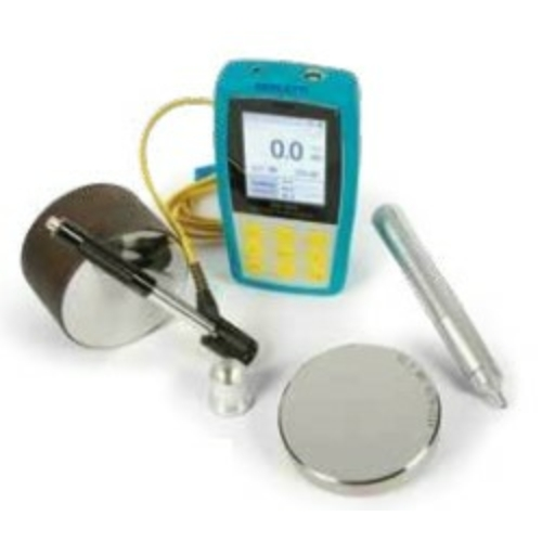 Hordozható digitális keménységmérő, ultrahang és LEEB elvű, kézi