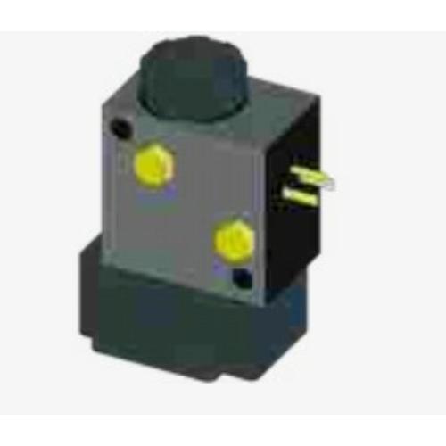 Elektromos vezérlő mágnesszelep (meghatározandó NO záró vagy NC nyitó kontaktussal) - Hidro-pneumatikus moduláris satukhoz