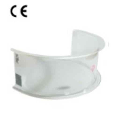 Műanyag eszterga-védőburkolat d250mm