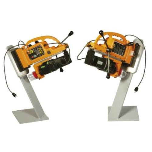 Elektromágneses fúróállvány elektropermanens talppal,EIBENSTOCK elektromos fúróval