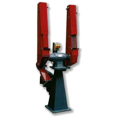 Függőleges, állványos szalagcsiszoló 1,5HP 400V 2800rpm