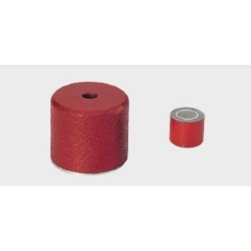Összetett mágnes, ALNICO maggal, 25,4x27 mm, M6 furat