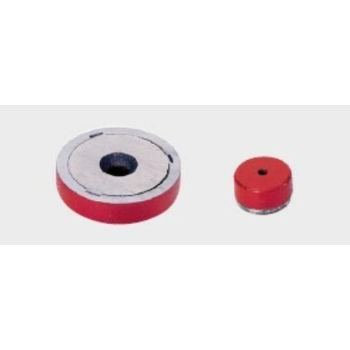 Összetett mágnes, ALNICO maggal, 8,75x28,5 mm, M6 furat