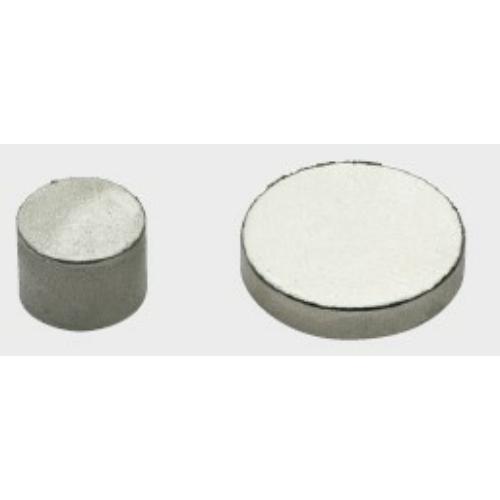 NEODÍMIUM Nikkelezett mágnes pogácsa D8 x 4 mm