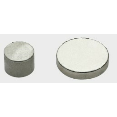 NEODÍMIUM Nikkelezett mágnes pogácsa D18 x 2 mm